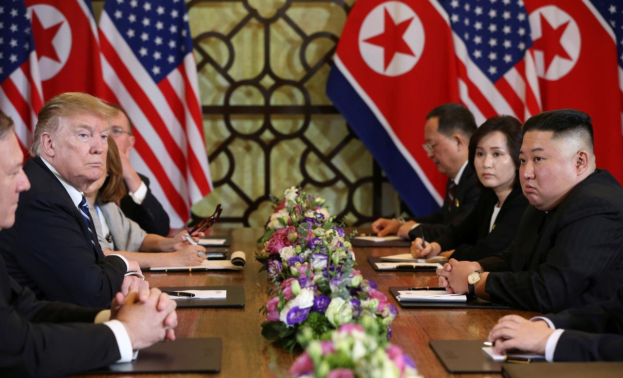 [PHOTO ESSAY] Những khoảnh khắc lịch sử trong chuyến công du Việt Nam đầu tiên của Chủ tịch Kim Jong-un - Ảnh 24.