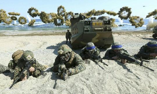 Hậu thượng đỉnh Mỹ-Triều, Mỹ - Hàn có quyết định bất ngờ về tập trận chung - Ảnh 1.