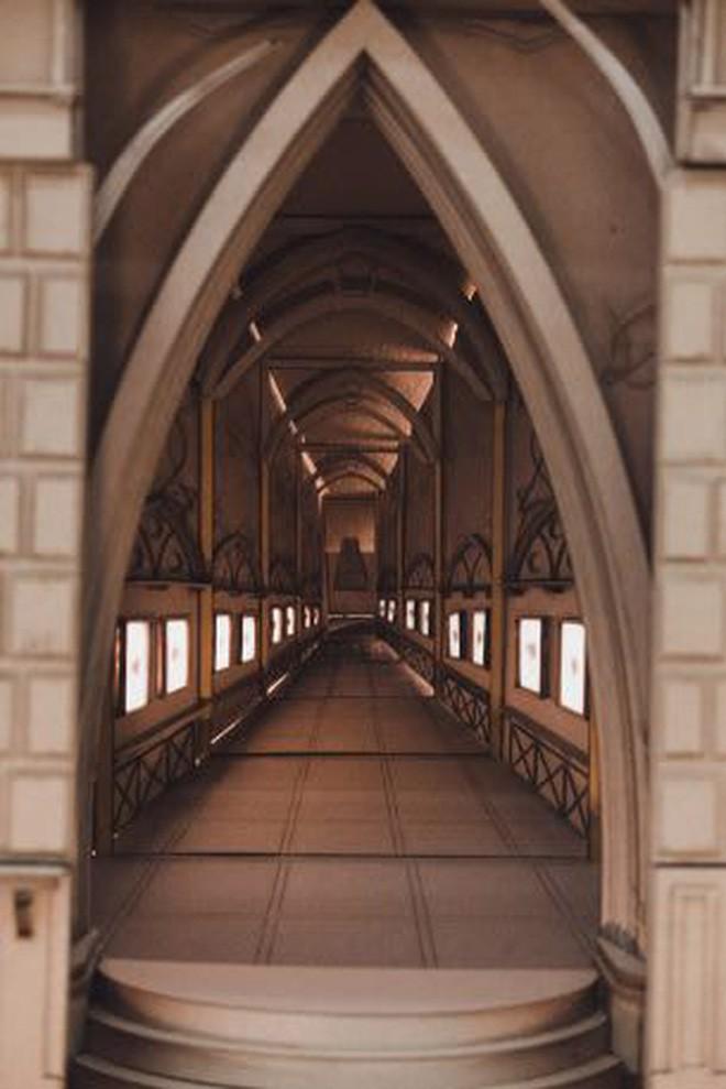 Sinh viên đại học kiến trúc vừa thiết kế lại thế giới Harry Potter, còn đẹp hơn cả phim - Ảnh 11.