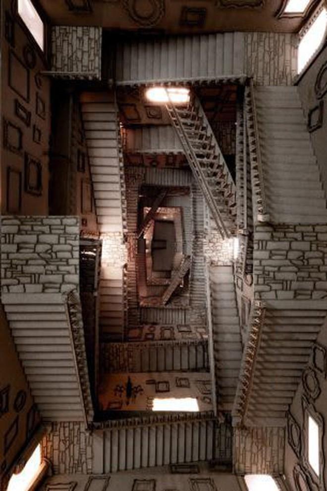 Sinh viên đại học kiến trúc vừa thiết kế lại thế giới Harry Potter, còn đẹp hơn cả phim - Ảnh 13.