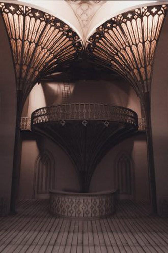 Sinh viên đại học kiến trúc vừa thiết kế lại thế giới Harry Potter, còn đẹp hơn cả phim - Ảnh 14.