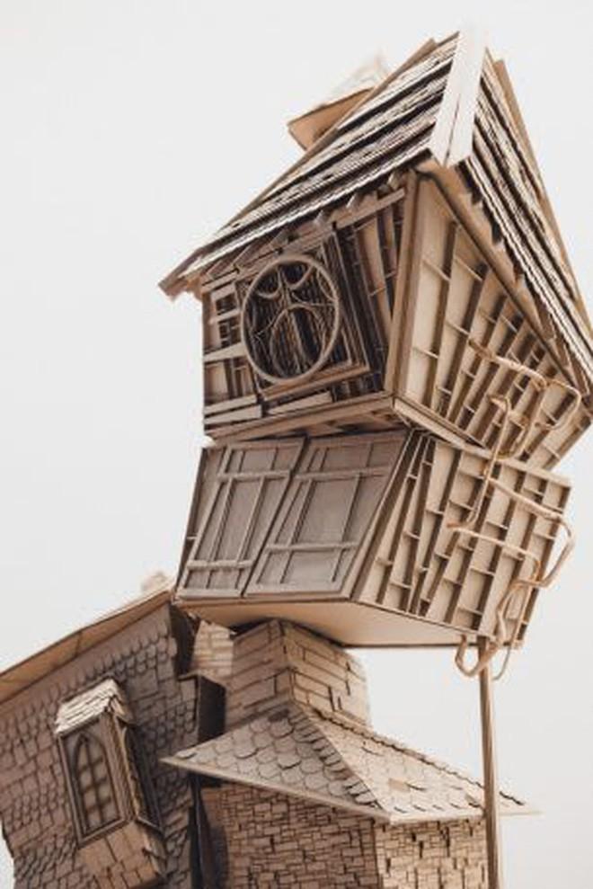 Sinh viên đại học kiến trúc vừa thiết kế lại thế giới Harry Potter, còn đẹp hơn cả phim - Ảnh 4.