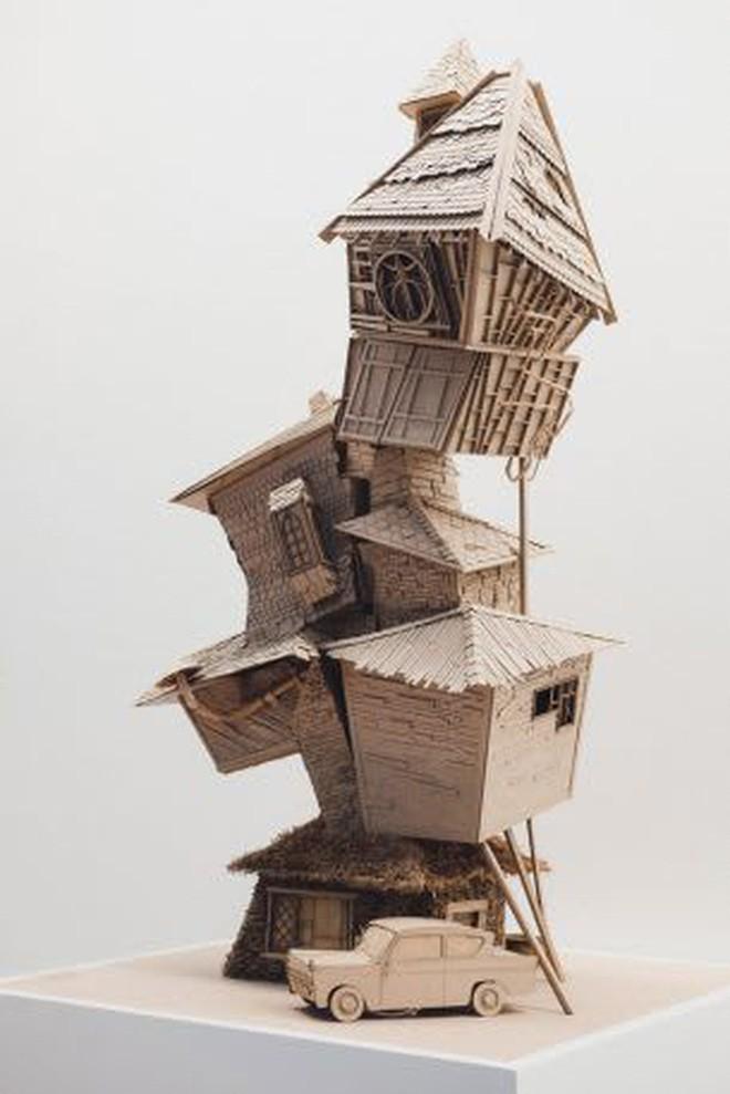 Sinh viên đại học kiến trúc vừa thiết kế lại thế giới Harry Potter, còn đẹp hơn cả phim - Ảnh 5.