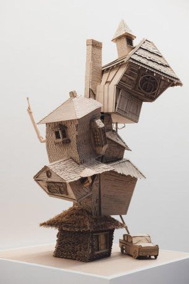 Sinh viên đại học kiến trúc vừa thiết kế lại thế giới Harry Potter, còn đẹp hơn cả phim - Ảnh 6.