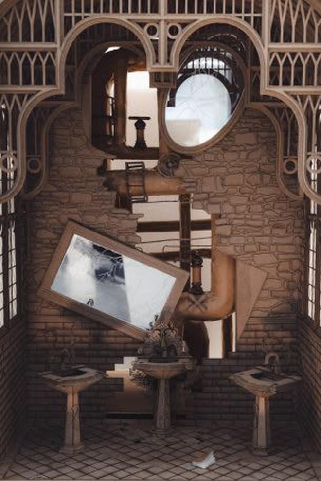 Sinh viên đại học kiến trúc vừa thiết kế lại thế giới Harry Potter, còn đẹp hơn cả phim - Ảnh 7.