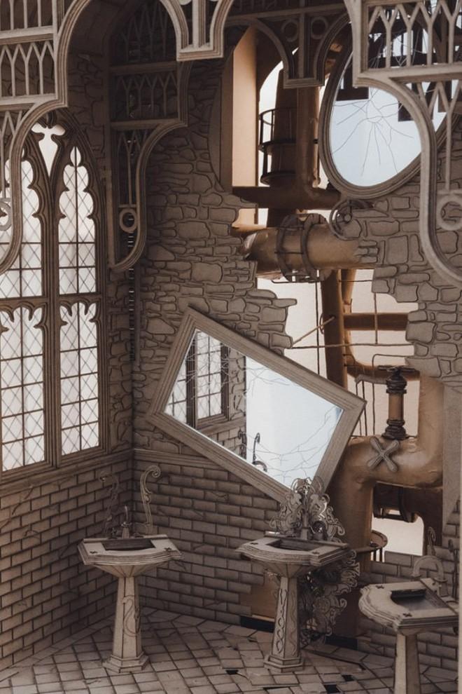 Sinh viên đại học kiến trúc vừa thiết kế lại thế giới Harry Potter, còn đẹp hơn cả phim - Ảnh 9.