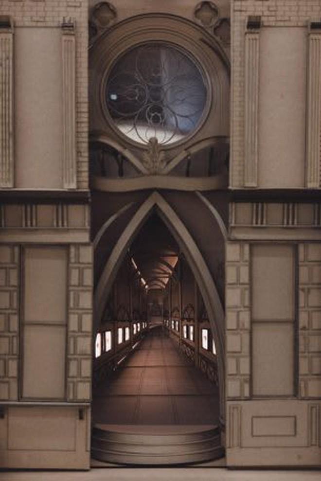 Sinh viên đại học kiến trúc vừa thiết kế lại thế giới Harry Potter, còn đẹp hơn cả phim - Ảnh 10.
