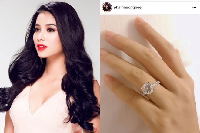 Hoa hậu Phạm Hương lần đầu đăng ảnh sexy sau tin đồn sang Mỹ sinh con - Ảnh 1.