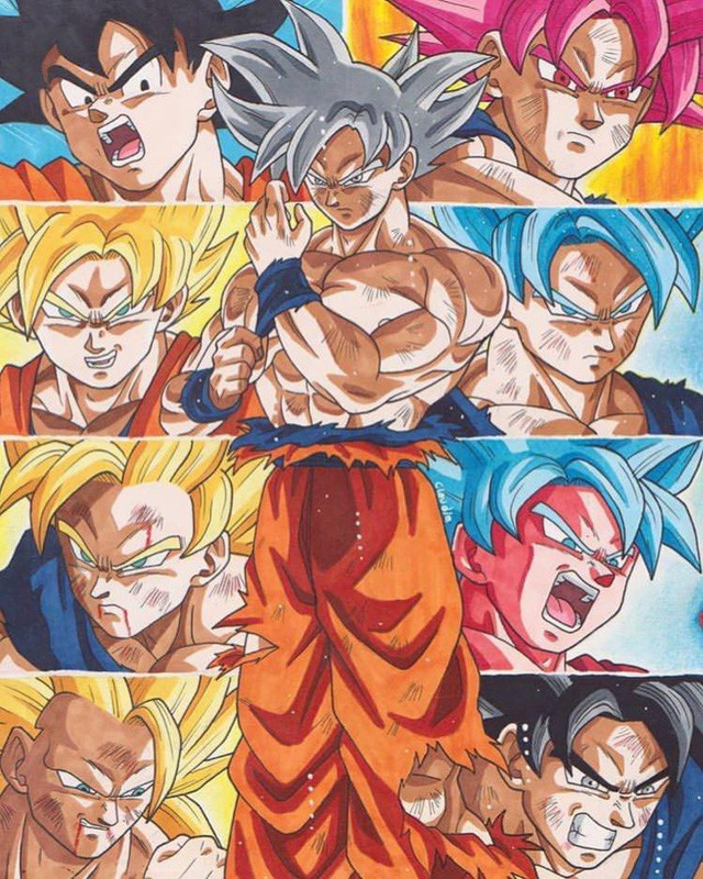 7 chiến binh Saiyan mạnh nhất đã xuất hiện trong mạch truyện chính của Dragon Ball - Ảnh 1.