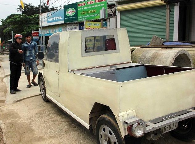 Nam thanh niên chế xe siêu bán tải từ chiếc xe máy Suzuki Viva với giá rẻ bất ngờ - Ảnh 14.
