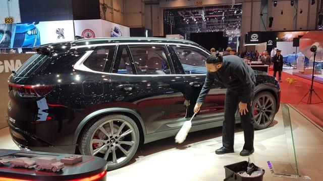 Lộ hình ảnh của mẫu ô tô VinFast sẽ đem đến Geneva Motor Show 2019 - Ảnh 1.