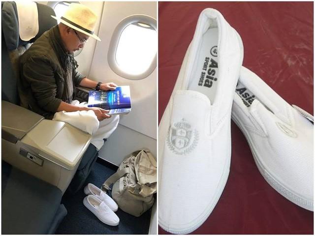 Cơn sốt đôi giày trắng của Đặng Lê Nguyên Vũ giá chỉ 70.000 đồng - Ảnh 1.