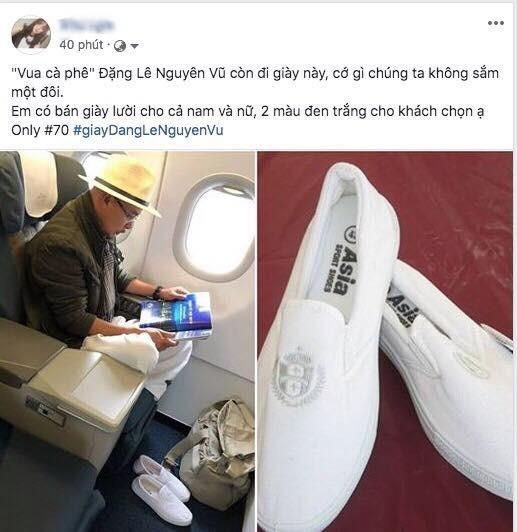 Cơn sốt đôi giày trắng của Đặng Lê Nguyên Vũ giá chỉ 70.000 đồng - Ảnh 3.
