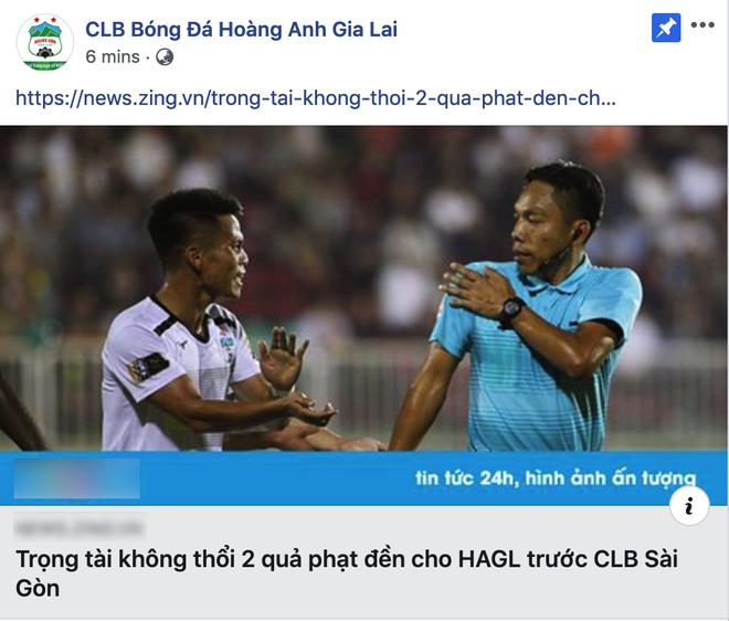 Đội nhà thất bại, fanpage CLB HAGL còn 2 lần khiến fan phẫn nộ vì hành động đổ thêm dầu vào lửa - Ảnh 2.