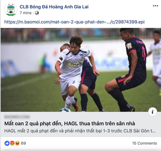 Đội nhà thất bại, fanpage CLB HAGL còn 2 lần khiến fan phẫn nộ vì hành động đổ thêm dầu vào lửa - Ảnh 3.
