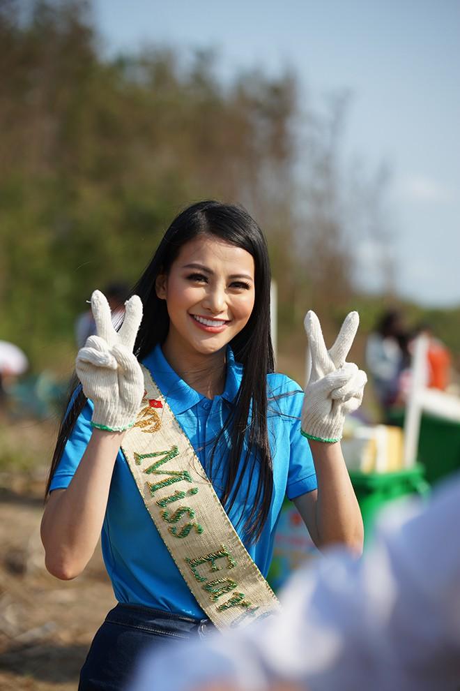 """Bảng điểm học lớp 12 của """"Hoa hậu trái đất"""" Phương Khánh - Ảnh 4."""