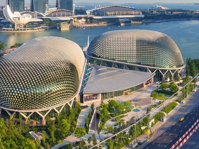 Những công trình kiến trúc độc đáo và là điểm đến hút khách ở Singapore - Ảnh 2.