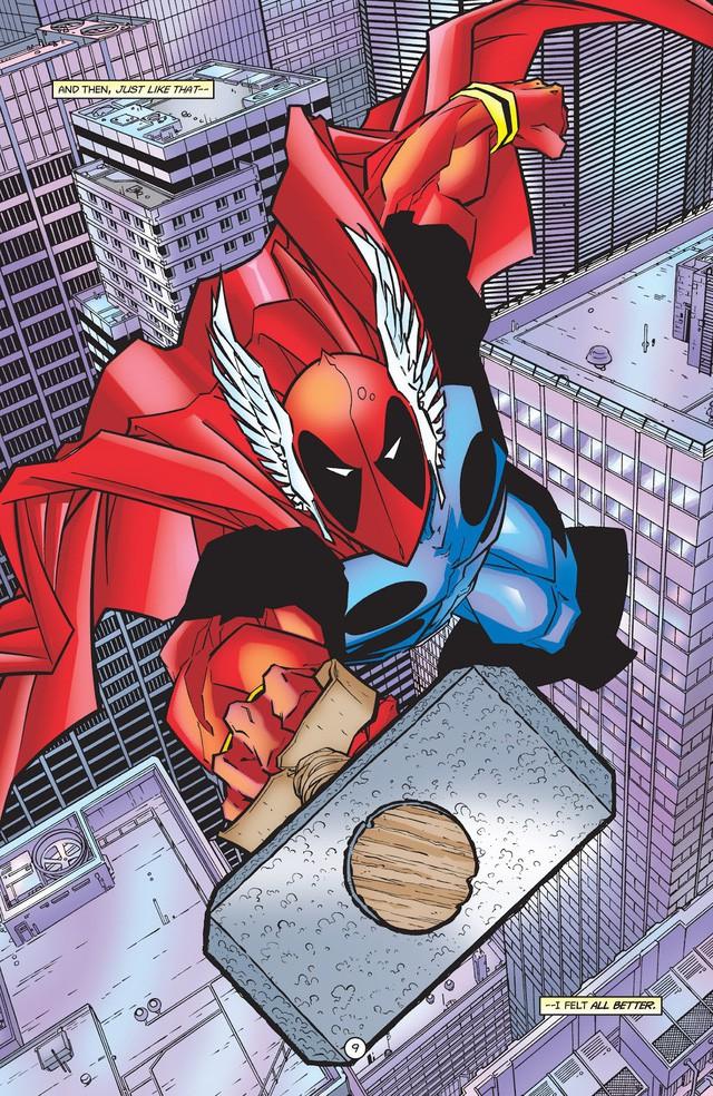 Từng nâng được Mjolnir nhưng liệu Deadpool có thực sự xứng đáng với cây búa thần của Thor? - Ảnh 2.