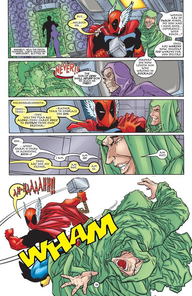 Từng nâng được Mjolnir nhưng liệu Deadpool có thực sự xứng đáng với cây búa thần của Thor? - Ảnh 5.