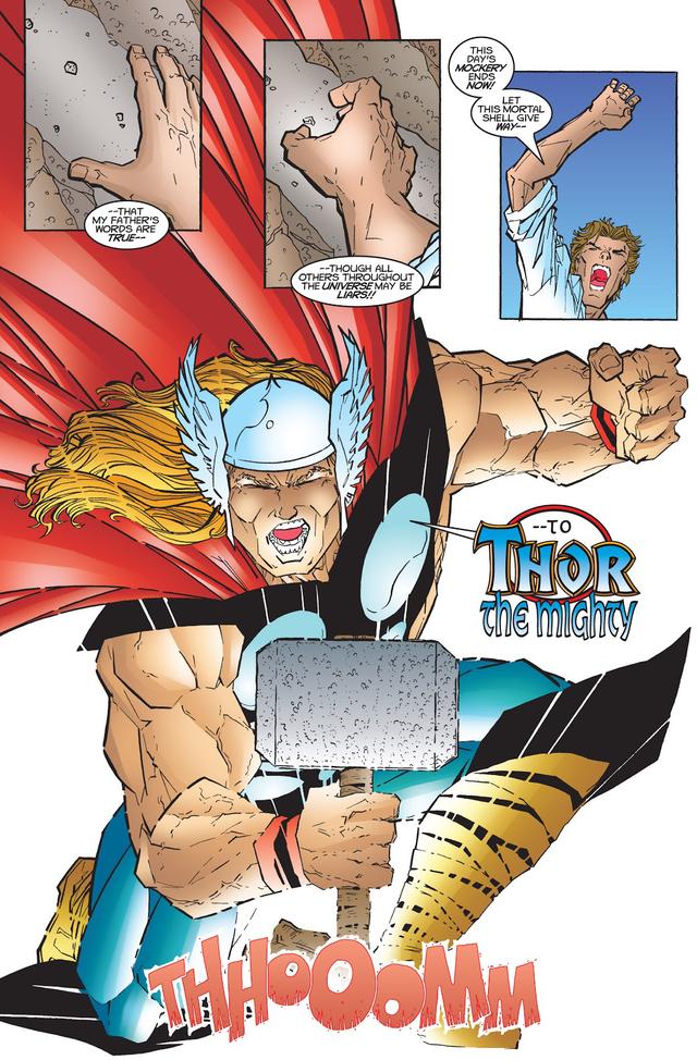 Từng nâng được Mjolnir nhưng liệu Deadpool có thực sự xứng đáng với cây búa thần của Thor? - Ảnh 6.