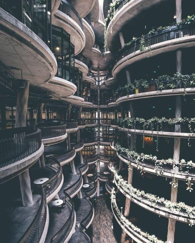 Những công trình kiến trúc độc đáo và là điểm đến hút khách ở Singapore - Ảnh 6.