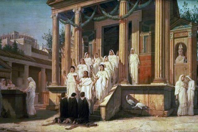 Chuyện về Vestal Virgin: những trinh nữ quyền lực nhất La Mã cổ đại, ai mơ tưởng đến cũng trả giá đắt - Ảnh 2.