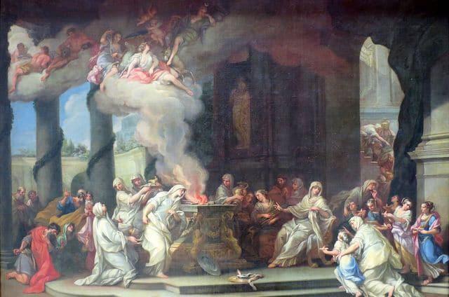 Chuyện về Vestal Virgin: những trinh nữ quyền lực nhất La Mã cổ đại, ai mơ tưởng đến cũng trả giá đắt - Ảnh 7.