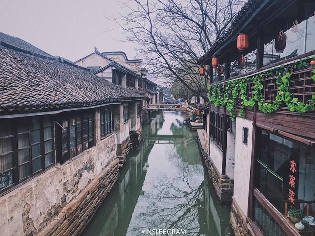 Ngẩn ngơ trước vẻ đẹp thị trấn cổ Châu Trang, nơi được mệnh danh là Venice Phương Đông  - Ảnh 9.