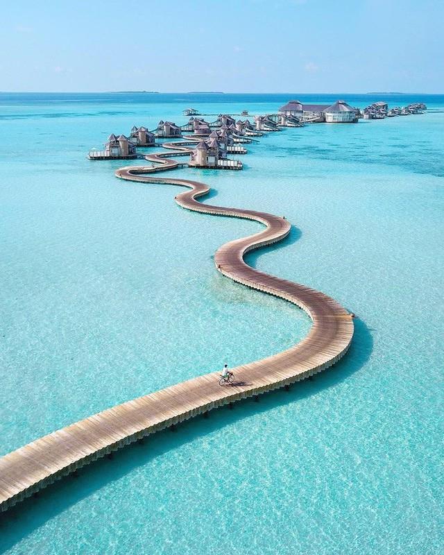Choáng với khu nghỉ dưỡng sang chảnh bậc nhất Maldives, chỉ dành cho giới giàu đến siêu giàu - Ảnh 11.