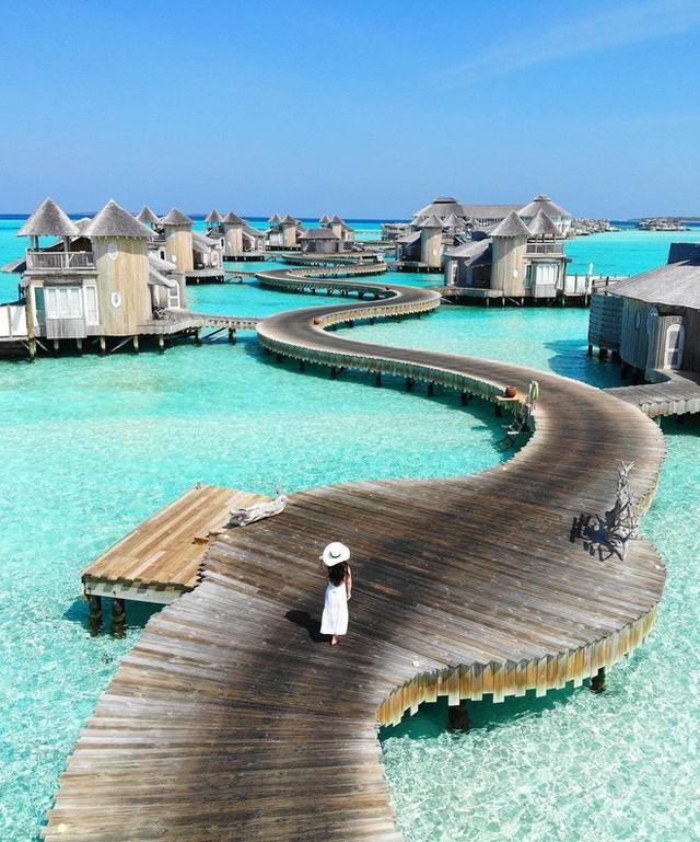 Choáng với khu nghỉ dưỡng sang chảnh bậc nhất Maldives, chỉ dành cho giới giàu đến siêu giàu - Ảnh 12.