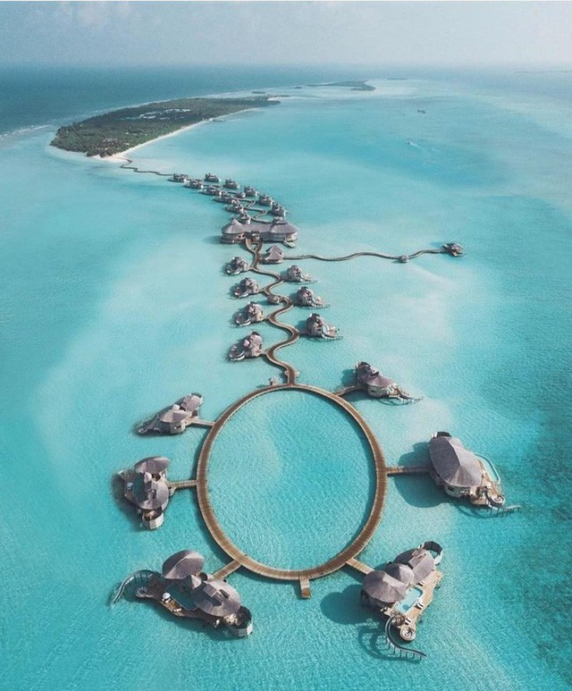 Choáng với khu nghỉ dưỡng sang chảnh bậc nhất Maldives, chỉ dành cho giới giàu đến siêu giàu - Ảnh 13.