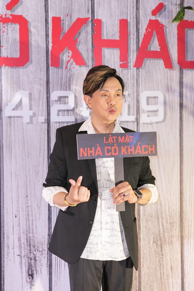 Trường Giang, Ngô Thanh Vân và dàn sao Việt chúc mừng Lý Hải ra mắt Lật mặt 4 - Ảnh 9.