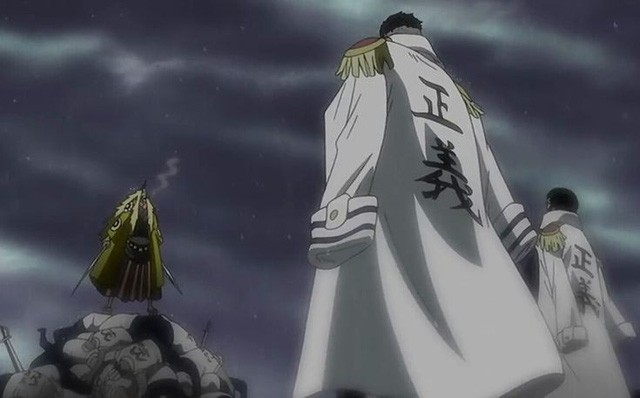 One Piece: Shiki sẽ tấn công Tổng bộ Hải quân... và bị Râu Đen kết liễu để đoạt lấy trái ác quỷ Fuwa Fuwa no Mi? - Ảnh 3.