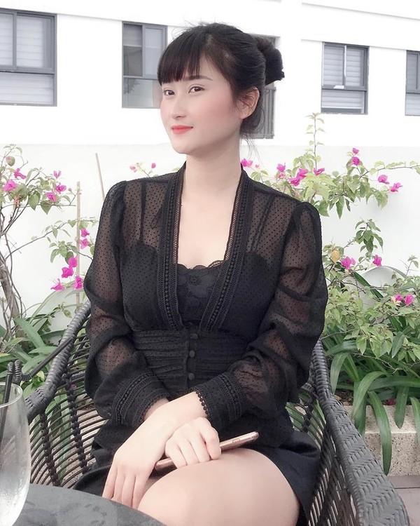 Bạn gái Huy Hùng: Tôi không đóng phim có cảnh nóng - Ảnh 1.