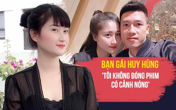 Bạn gái Huy Hùng: Tôi không đóng phim có cảnh nóng - Ảnh 2.