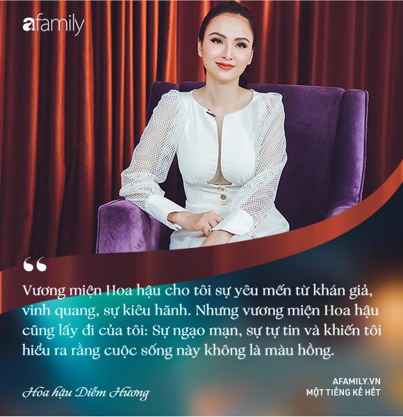 Hoa hậu Diễm Hương: Chồng nào cũng bảo nếu em đừng làm ra tiền thì đã dễ dạy hơn - Ảnh 9.