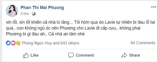 Đăng tin nhập viện lúc 3 giờ sáng, Mai Phương khiến bạn bè đồng nghiệp nháo nhào - Ảnh 2.