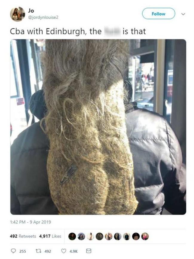 Đi xe buýt gặp quả đầu tóc khó đỡ, cô nàng chụp lại đăng lên MXH khoe bất ngờ bị chỉ trích nặng nề - Ảnh 1.