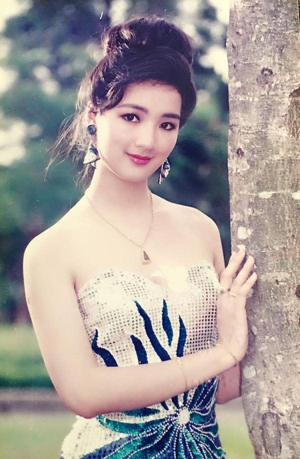 Nhan sắc không tuổi và khối tài sản khủng của Hoa hậu Đền Hùng Giáng My  - Ảnh 1.