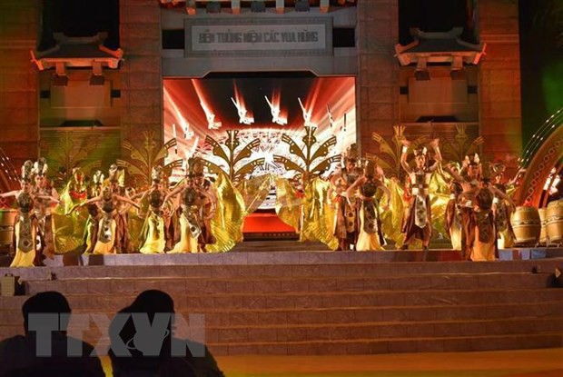 Gần 3 triệu lượt khách đến tham quan Khu Tưởng niệm các Vua Hùng - Ảnh 1.