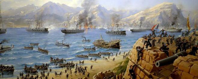 Thực dân Pháp câu kết Tây Ban Nha, đem chiến thuyền hùng hậu tấn công Đà Nẵng - Ảnh 4.