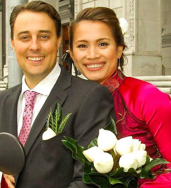 Bỏ hào quang sang Mỹ, Hoa hậu Ngọc Khánh viên mãn sống đời giản dị, trồng nho phụ chồng - Ảnh 4.