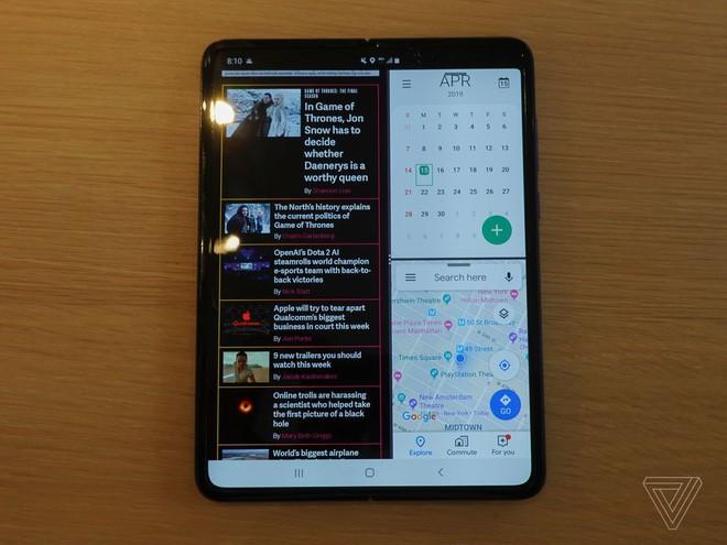 Trên tay Samsung Galaxy Fold: cầm nắm sướng tay, tiếng mở ra đóng vào nghe sướng tai và phần mềm thì tốt đáng ngạc nhiên - Ảnh 6.
