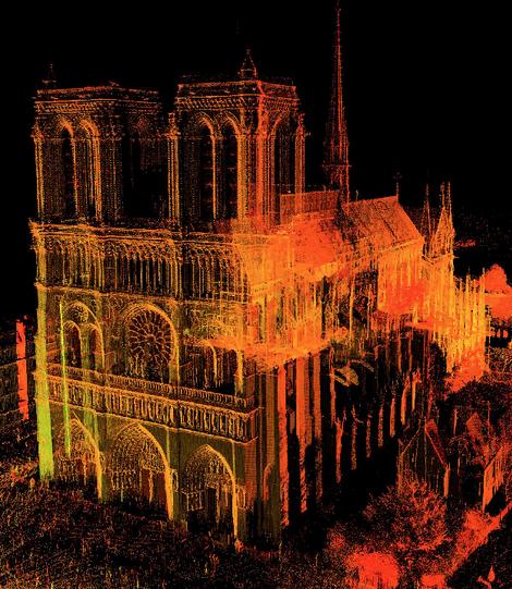 Với công nghệ này, Nhà thờ Đức Bà Paris vừa bị cháy có thể trở về nguyên trạng - Ảnh 3.