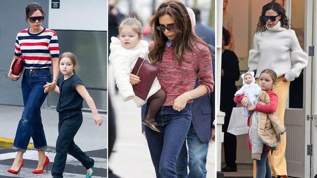 Tiểu công chúa Harper Beckham: Cuộc sống quý tộc phủ kín bằng tình thân và hàng hiệu của cô bé hạnh phúc nhất Hollywood - Ảnh 4.