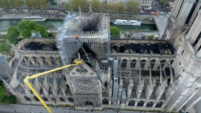Có manh mối quan trọng giúp điều tra vụ cháy nhà thờ Đức Bà Paris - Ảnh 1.