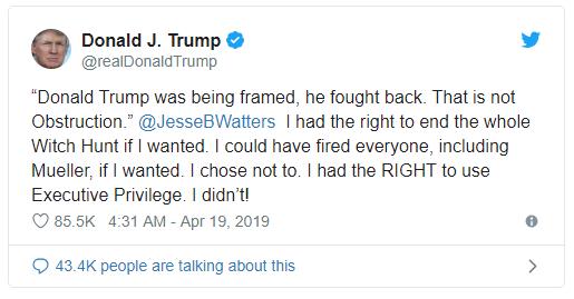 Ông Trump nổi giận đùng đùng, đăng dòng tweet đe dọa gay gắt nhất từ trước tới nay - Ảnh 1.