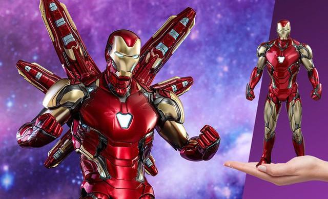 Avengers: Endgame - Không chỉ có giáp mới, Iron Man còn sử dụng cả Găng Tay Vô Cực để đánh bại Thanos? - Ảnh 3.