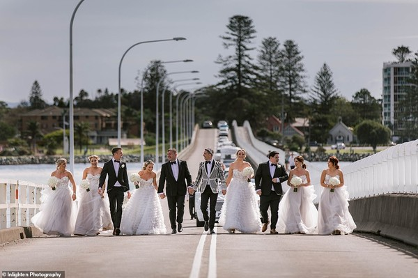 Choáng với siêu đám cưới 23 tỷ toàn kim cương và pha lê của cặp đồng tính nam - Ảnh 4.