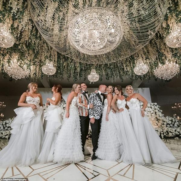 Choáng với siêu đám cưới 23 tỷ toàn kim cương và pha lê của cặp đồng tính nam - Ảnh 7.